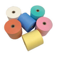 57 x 30 x 12.7 Core (Yellow) Thermal Rolls Boxed 20s