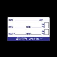 Washrite Item Labels 50x25